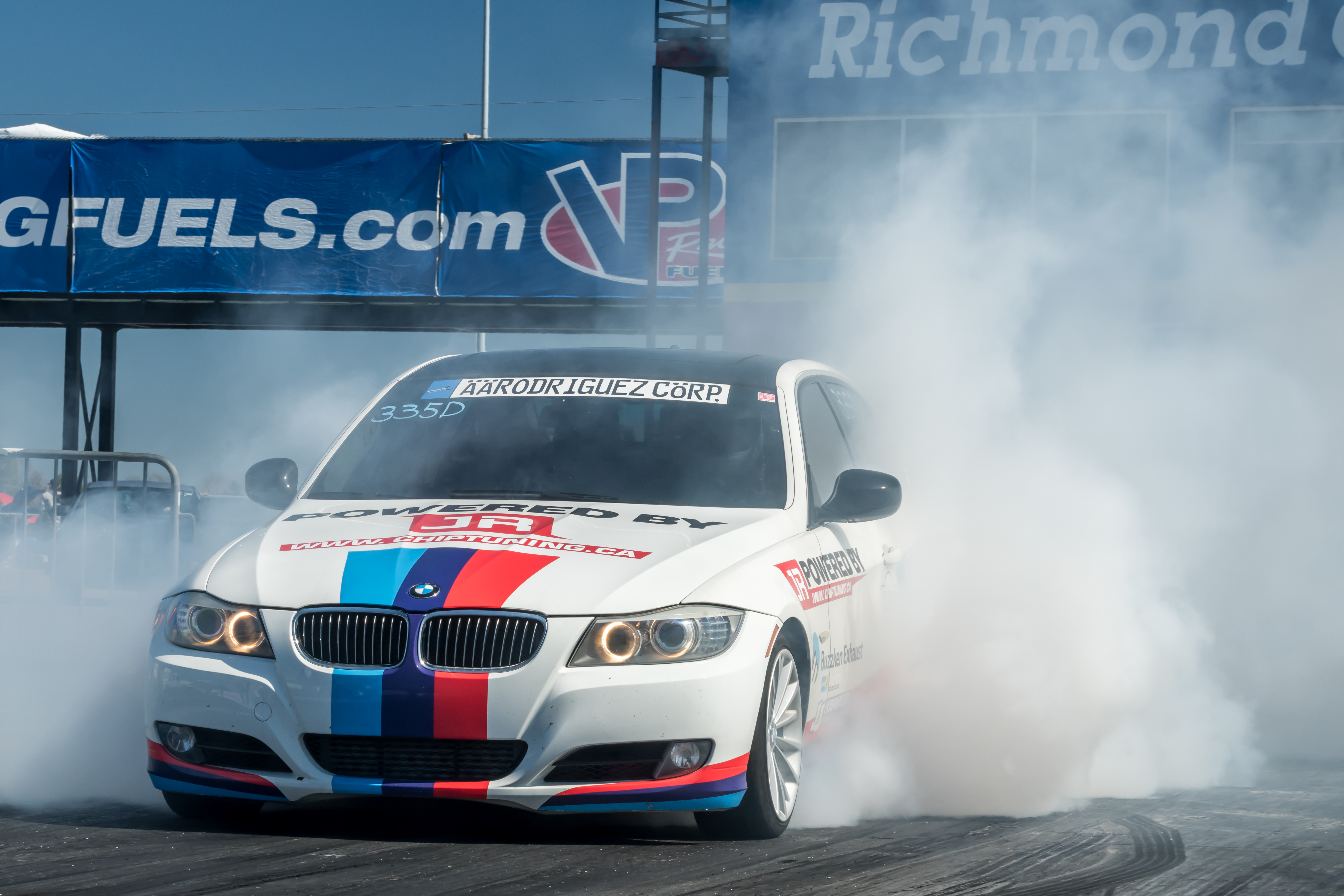 BMW 335D World Record 1/4 Mile