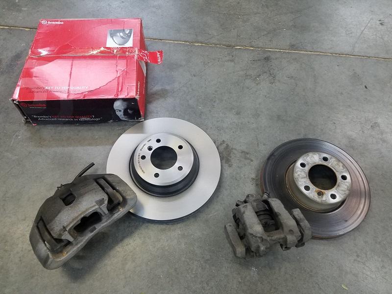 328d big brake kit