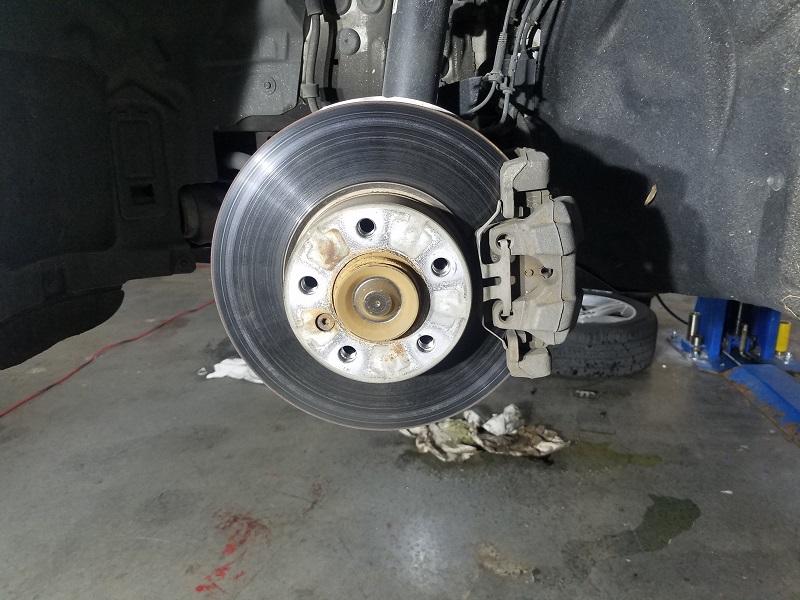 328d stock brakes installed - 2